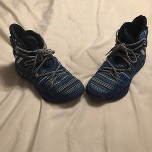 Adidas high top basketball shoe size 8.5